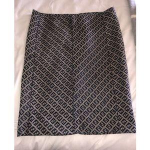 Fendi Print Skirt Size 38